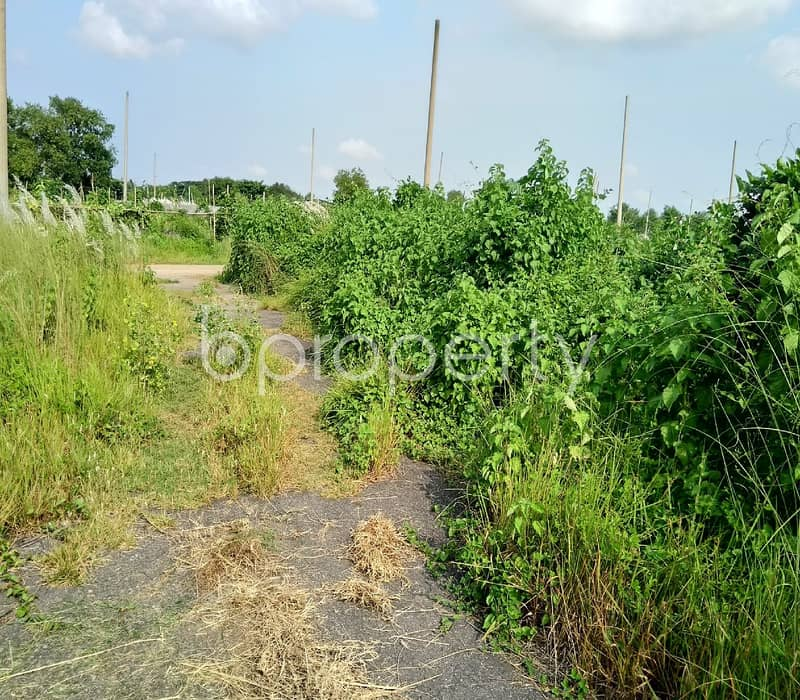 Offering You An Excellent 5 Katha Commercial Plot For Sale In Purbachal