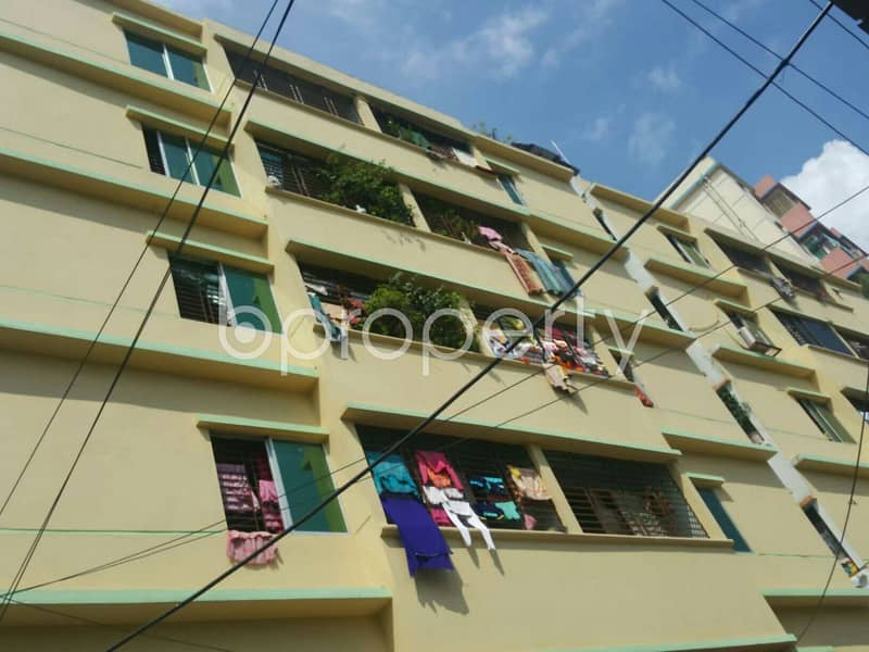 Start Your New Home, In This 1065 Sq. Ft Flat For Sale In 3 No. Panchlaish Ward.