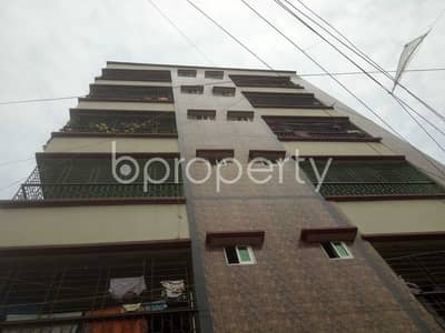 3 Bedroom Apartment for Sale in Badda, Dhaka - A Nice Flat Of 1000 Sq Ft With Three Bedroom Is Up For Sale In Sayednagar, Badda