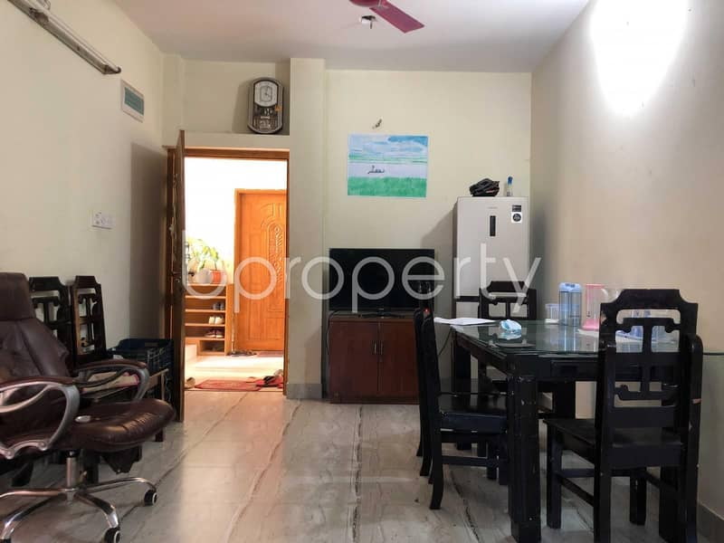1200 Sq. Ft. Flat Is up For Sale At Krishnochura R/A Nearby Chattogram Polytechnic Institute