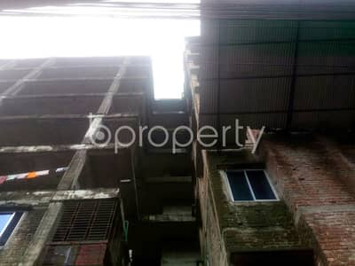 1030 Sq Ft Well Developed Flat Is Up For Sale In Middle Badda