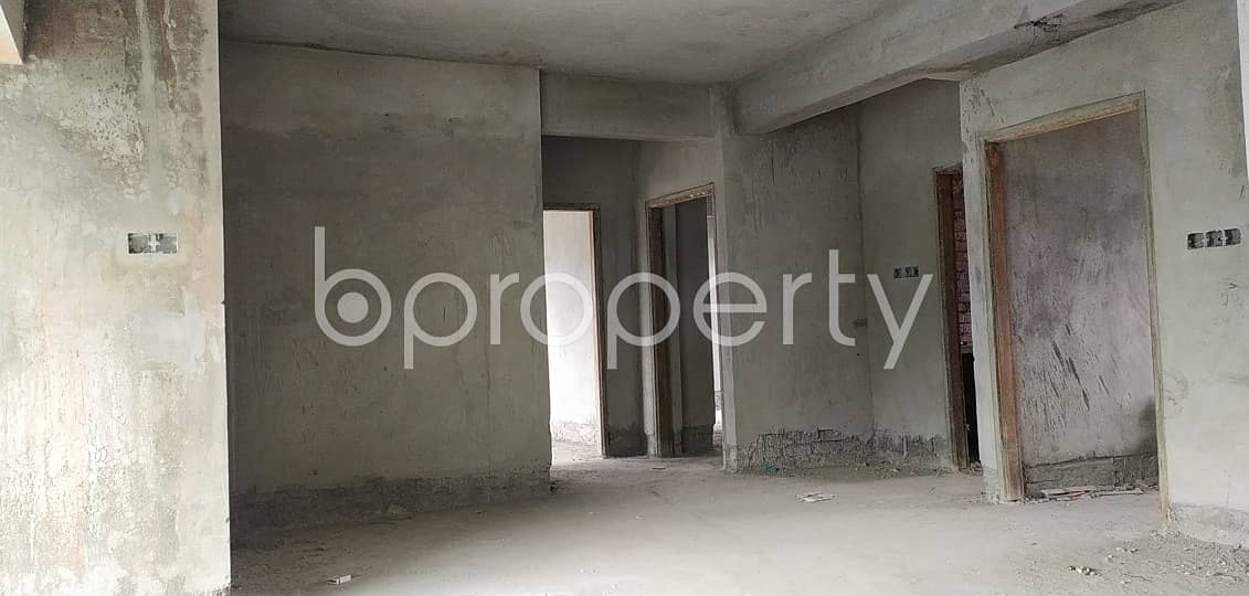 Available In Uttar Badda , A 1450 Sq. Ft Apartment For Sale, Near To Shadhinota Sharani Jame Masjid