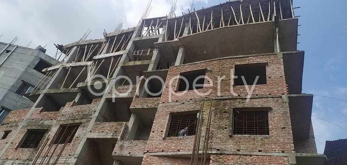 Nearby Shadhinota Sharani Jame Masjid This 2 Bedroom Residential Apartment For Sale