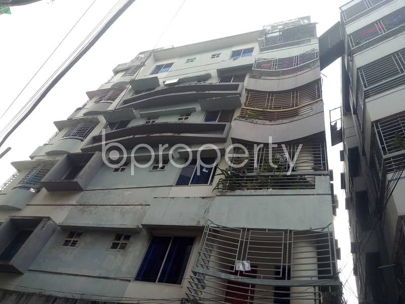 A Well-constructed 2650 Sq Ft Flat Is Available For Sale In CDA Avenue, Bagmoniram