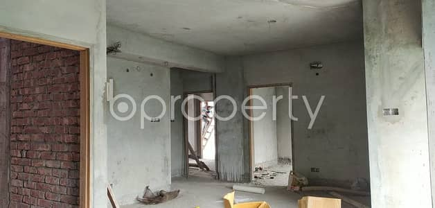 We Have A 1480 Sq. Ft Flat For Sale In Uttar Badda Nearby Shadhinota Sharani Jame Masjid
