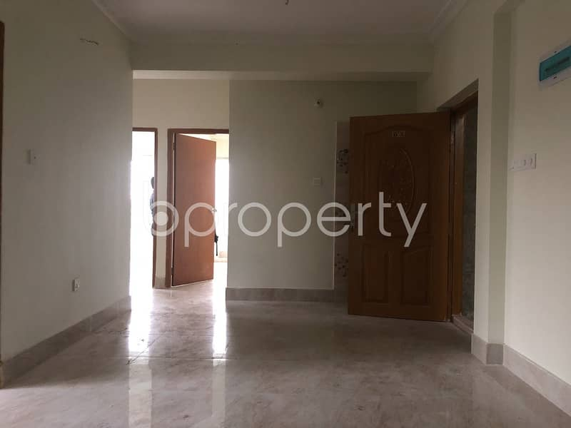 A well-constructed 1052 SQ FT flat is ready for sale in Kotwali close to Kotwali Jame Masjid