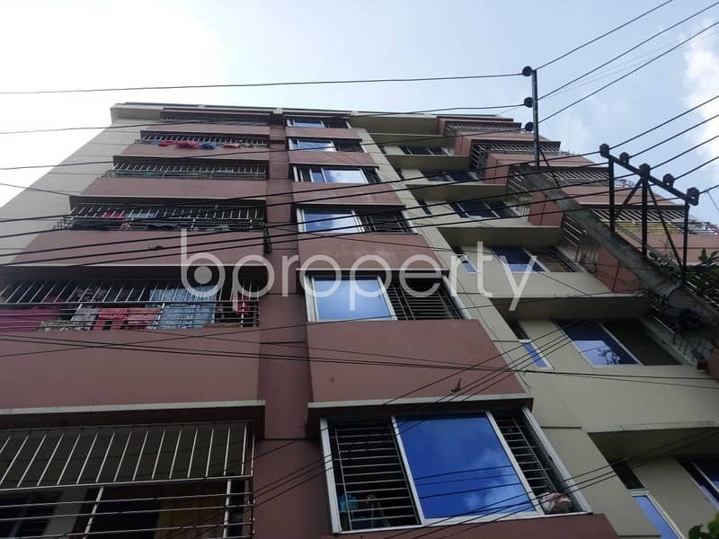 Make Your Home In A Decent Flat In Nikunja R/a, That Is Ready For Rent