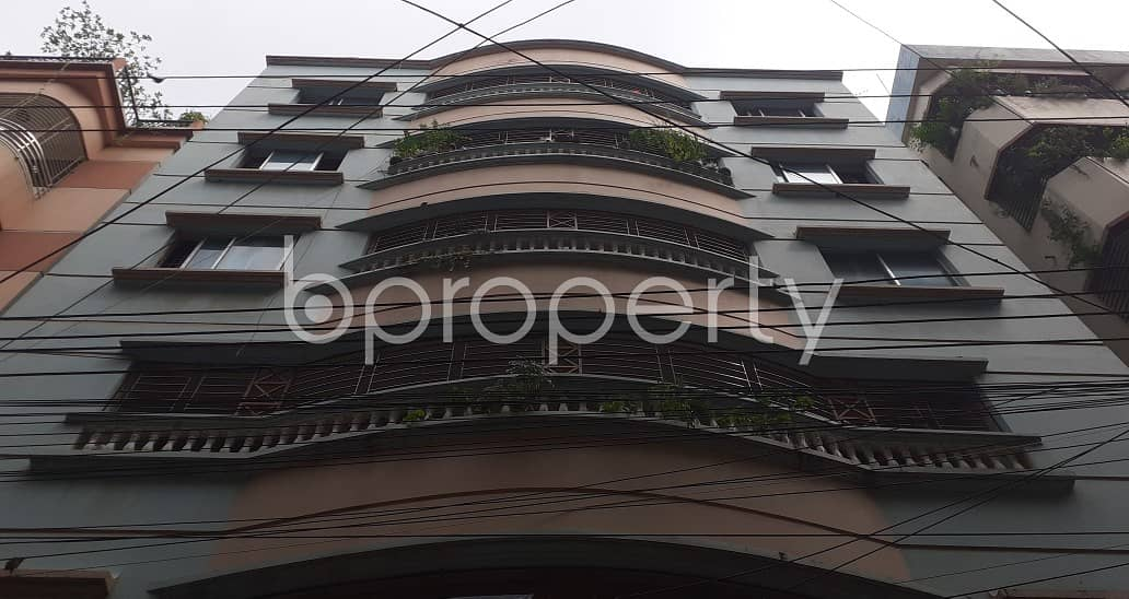 A Dazzling 1100 Sq Ft Residential Apartment Is Up For Rent Located At Banasree