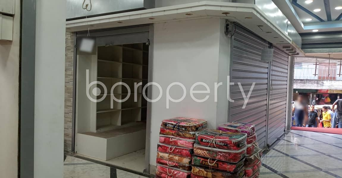 122 Sq Ft shop Is Available to Rent in Halishahar