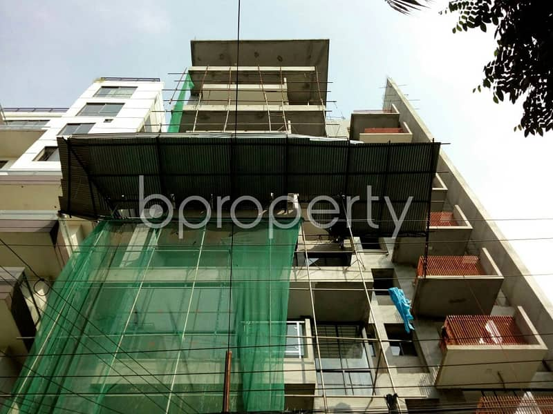We Have A 2214 Sq. Ft Flat For Sale In Banani Nearby NRB Bank Limited