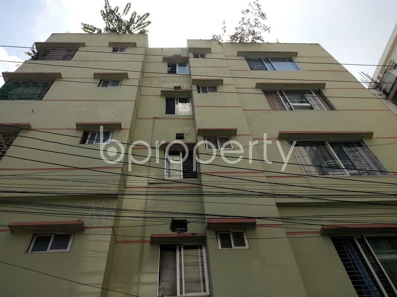 At Nasirabad Properties Residential Area, 1200 Square Feet Flat Is For Rent