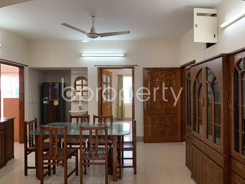 Semi Furnished Flat Near Baridhara Jame Masjid For Rent In Baridhara DOHS