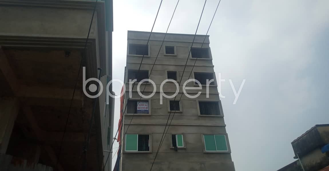 570 Sq Ft Vacant Flat For A Small Family Is Ready For Rent At South Middle Halishahar