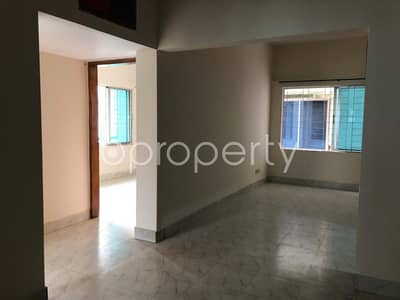 2 Bedroom Flat for Rent in Aftab Nagar, Dhaka - A Rightly Planned 2 Bedroom Apartment Is Found For Rent In Aftab Nagar, Block A