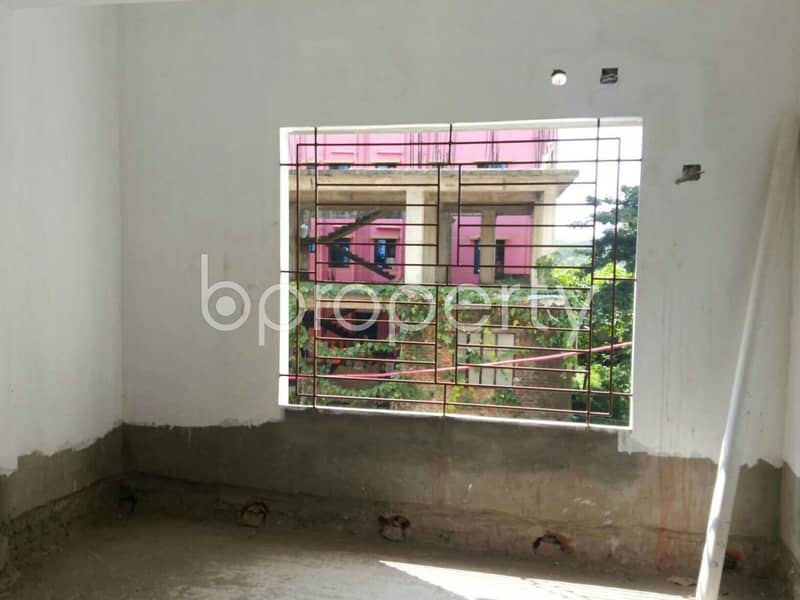 1071 Sq Ft Comfortable Flat Is Available For Sale At 3 No. Panchlaish Ward