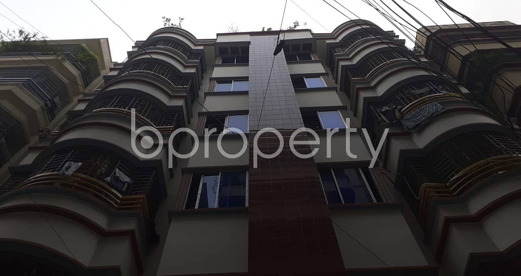 Sophisticated 1200 Sq Ft Flat Is Available For Rent In Banasree