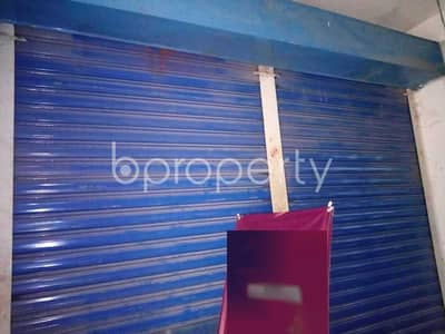 Shop for Rent in Joar Sahara, Dhaka - A 150 Square Feet Medium Size Shop Is Up For Rent In Kuril Choweasta.