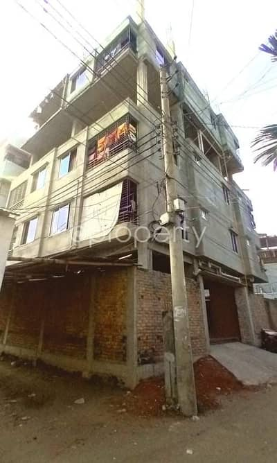 3 Bedroom Flat for Sale in Dakshin Khan, Dhaka - Now You Can Afford To Dwell Well, Check This 3 Bedroom Apartment Which Is Vacant For Sale In West Mollartek