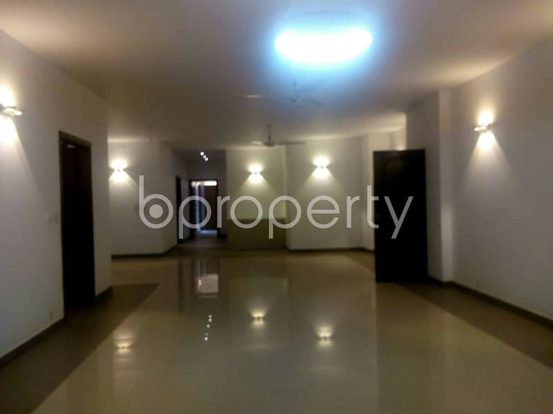 Mesmerizing Flat Is Up For Rent In Gulshan 2, Nearby Delegation Of The European Commission.