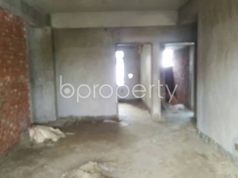 A Moderate 1700 Sq Ft Flat Is Available For Sale At Bayazid