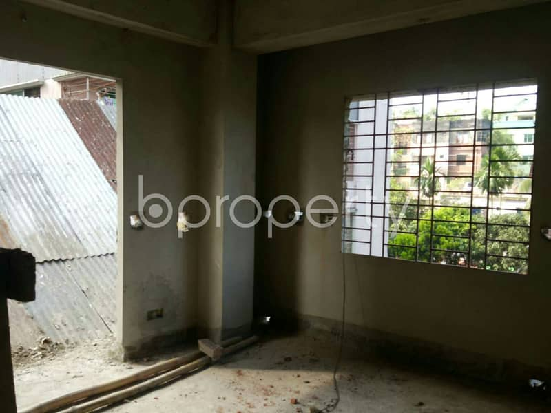 A Convenient 1680 Sq Ft Residential Flat Is Prepared To Be Sold At Bayazid