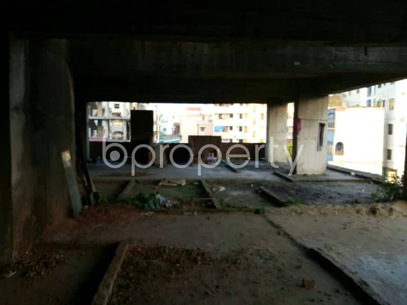 A 4000 Sq. Ft Commercial Space Is Available For Rent In Rupashi Housing Society