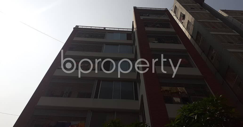 Obtain Your New Residence At This 950 Sq Ft Home Up For Rent At Bashundhara R-a Nearby Apollo Hospital