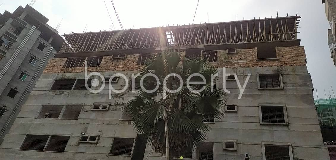 A well-constructed 1405 SQ FT flat is for sale in Uttar Badda
