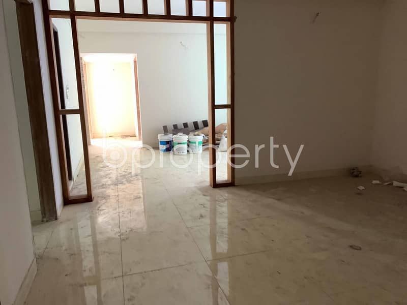 Visit This Flat For Sale Covering An Area Of 1405 Sq Ft In Rampura Nearby Janata Bank Limited