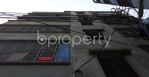 2 Bedroom Apartment for Rent in Khilkhet, Dhaka - In this serene neighborhood of Khilkhet, a flat is up for rent which is 650 SQ FT