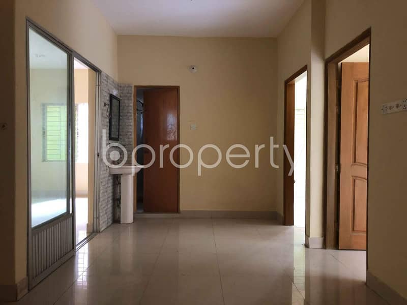 We Have A 1210 Sq. Ft Flat For Sale In The Location Of Patharghata