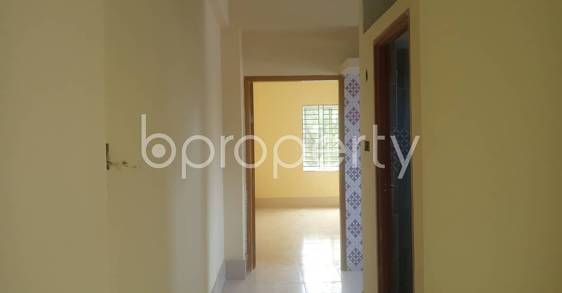610 Sq. Ft Flat For Rent Covering A Beautiful Area In The Location Of 38 No. South Middle Halishahar