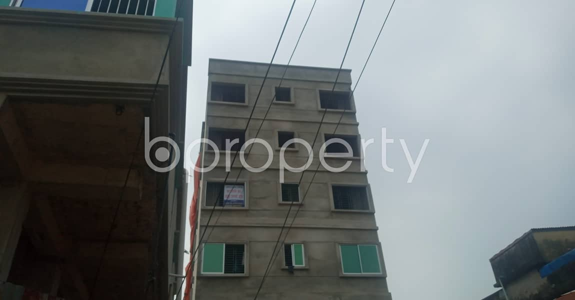 This 580 Sq. Ft. Flat Is Up For Rent In 38 No. South Middle Halishahar