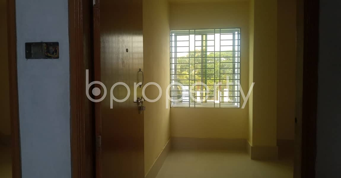 For Rental Purpose This 630 Sq. Ft Flat Is Now Available In The Location Of 38 No. South Middle Halishahar