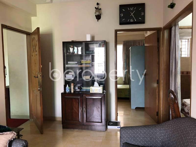 Visit This Apartment For Sale In Dakshin Khan Near AB Bank Limited.