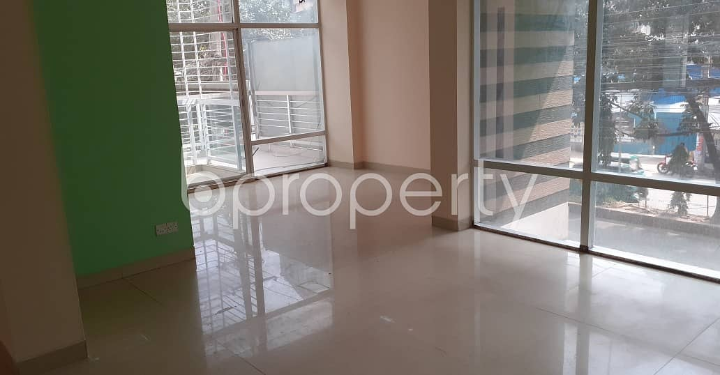 1210 Square Feet Commercial Office For Rent In Kalabagan, Panthapath Main Road
