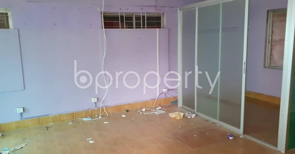 A Moderate 600 Square Feet Office Space Is Available For Rent In Panthapath Main Road