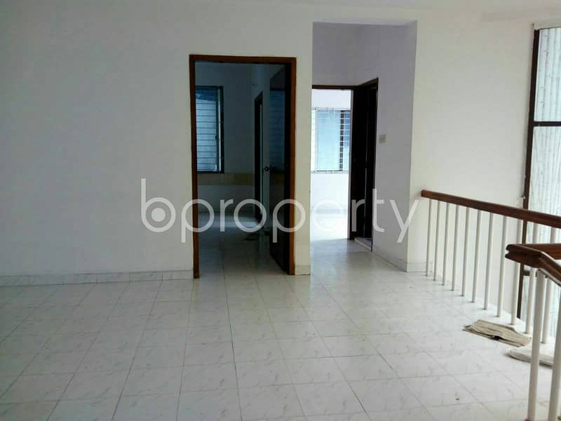 A Commercial Duplex Space Is Vacant For Rent In Banani Near To Prime Bank Foundation.