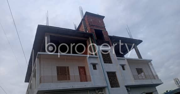 2 Bedroom Flat for Rent in Halishahar, Chattogram - Strongly Structured This 870 Sq. Ft Apartment Is Now Vacant For Rent In Munir Nagar, Halishahar