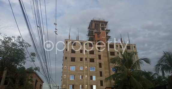 2 Bedroom Apartment for Rent in Halishahar, Chattogram - This 980 Square Feet Flat In 37 No. North-Middle Halishahar Ward With A Convenient Price Is Up For Rent.