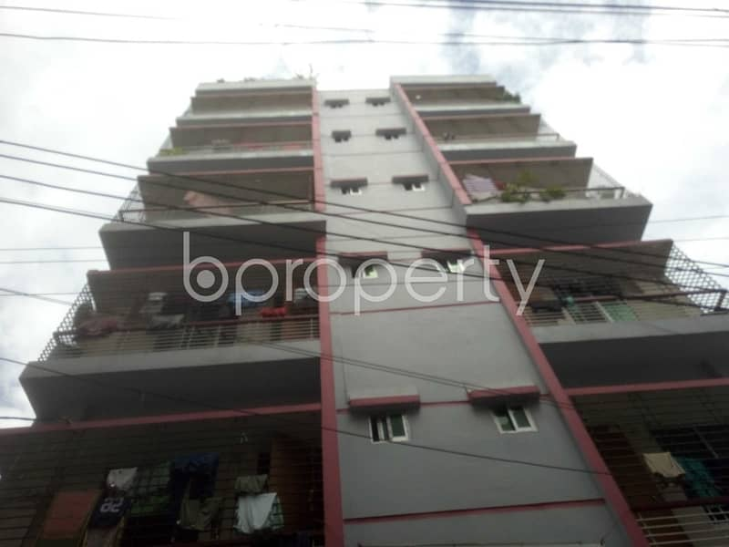 Visit This 600 Sq Ft Flat For Rent In Jagannathpur, Badda Nearby Mercantile Bank Limited