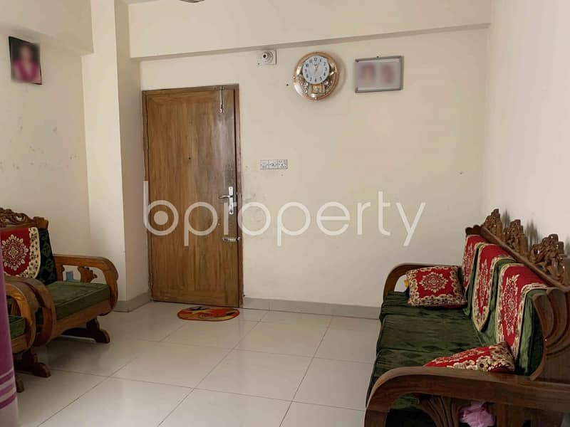 A Delightful Apartment Of 1260 Sq Ft Is Ready To Sale In A Great Location Of Jatra Bari
