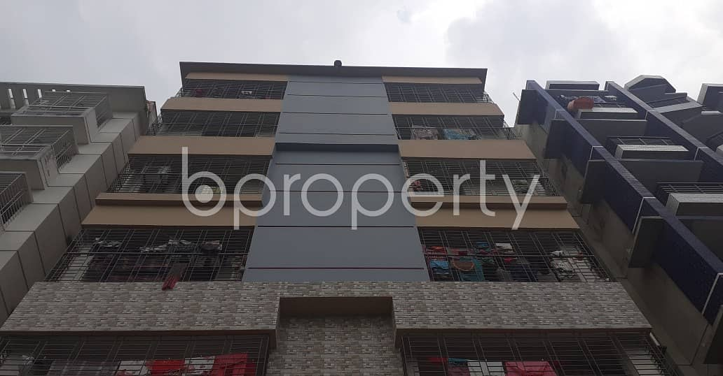 In Bashundhara R-a, A 1 Bedroom Flat Is Vacant For Rent.