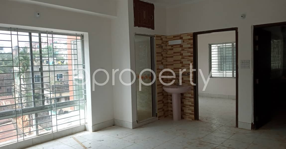 Comfortable, Convenient And Well-constructed 1550 Sq. Ft Flat Is Ready For Rent At 7 No. West Sholoshohor Ward