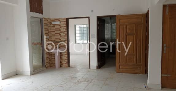 A 3 Bedroom And 1450 Sq Ft Properly Developed Flat For Rent In West Sholoshohor Close To Mohammadpur Chowdhury Mosque.