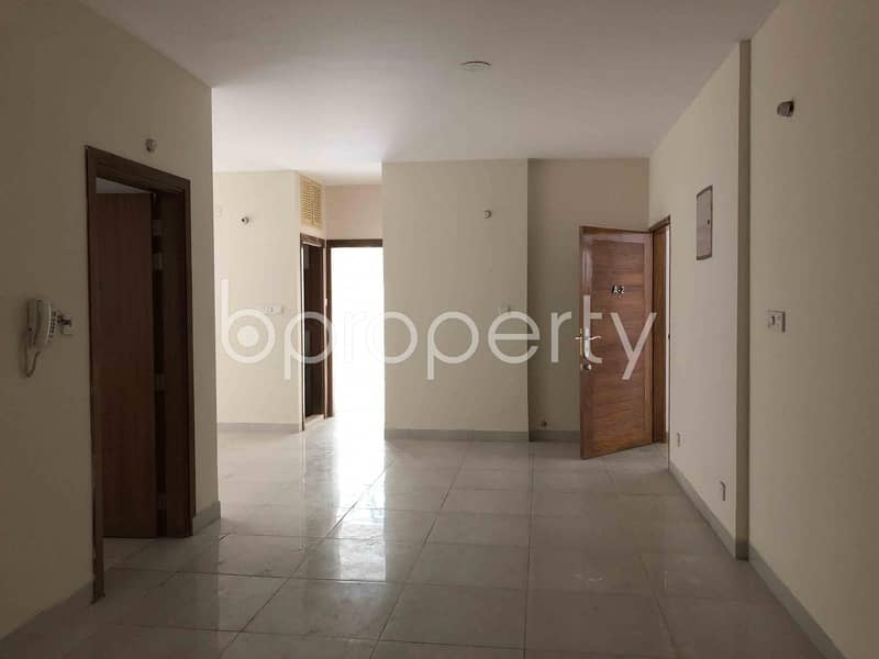 Reside Conveniently In This Well Constructed 1570 Sq. Ft Flat For Sale In Uttara-9.