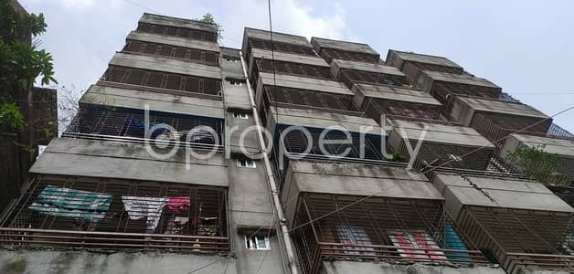 2 Bedroom Apartment for Sale in Badda, Dhaka - We Have A 840 Sq. Ft Flat For Sale In Uttar Badda Nearby Uttar Purba Badda Government Primary School