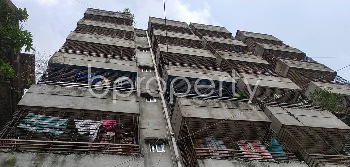 We Have A 840 Sq. Ft Flat For Sale In Uttar Badda Nearby Uttar Purba Badda Government Primary School