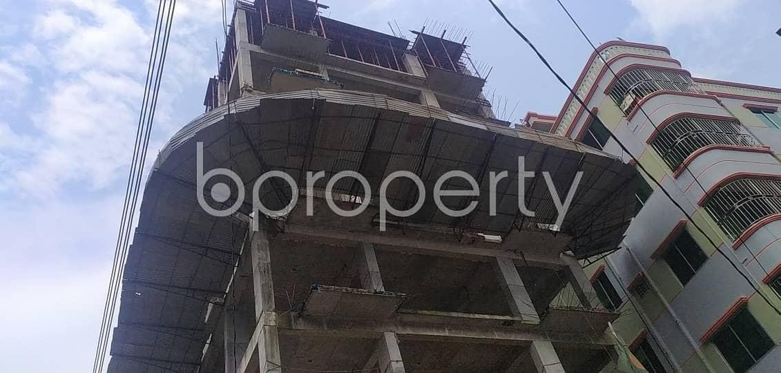 We Have A 1200 Sq. Ft -3 Bedroom Flat For Sale In Uttar Badda Nearby AMZ Hospital Ltd.