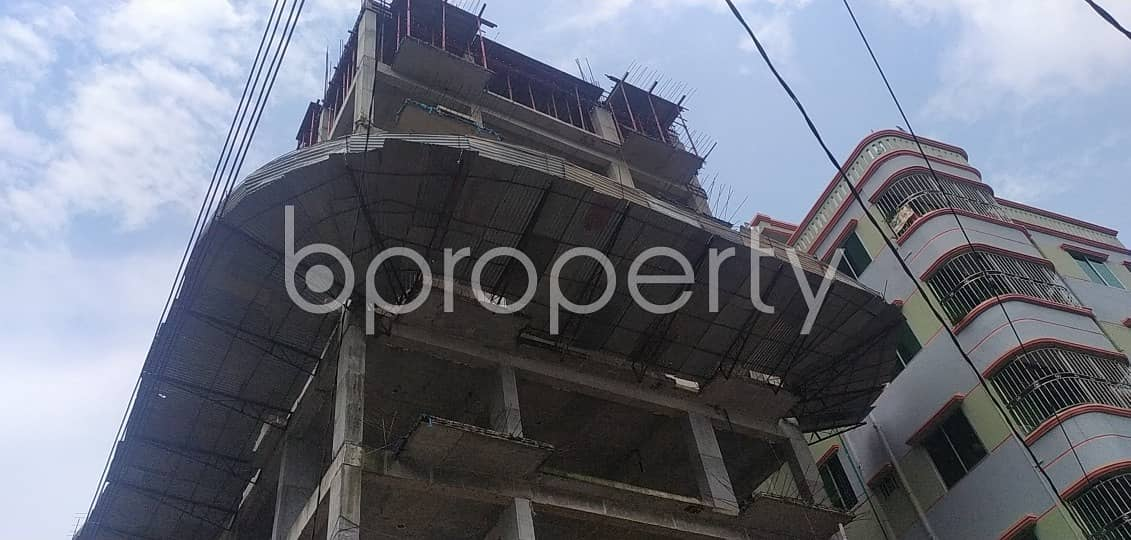 Plan to move in this 1200 SQ FT flat which is up for sale in Badda, Shadhinata Sharani